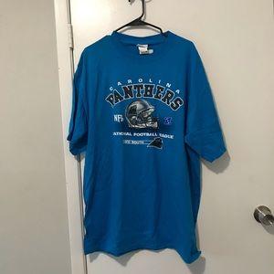 NWT Carolina Panthers T-shirt XL NFL